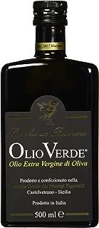 Olio Verde Oil Olive Extra Virgin, 16.89 oz