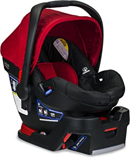Britax B-Safe 35 Infant Car Seat - 4 to 35 Pounds - Rear Facing - 1 Layer Impact Protection, Cardinal