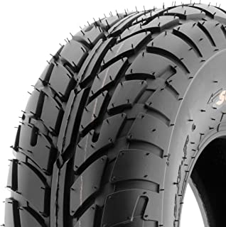 SunF A021 TT Sport ATV UTV Dirt Track & Flat Track Tire 20x7-8, 6 PR, Tubeless