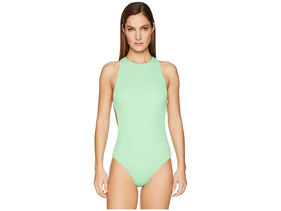 onia Yvette One-Piece (Neon Seafoam) Women