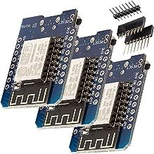 AZDelivery 3 x D1 Mini NodeMcu con Módulo WLAN ESP8266-12E para Arduino / 100% compatible con WeMos con eBook incluido