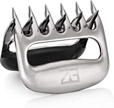 EZ Shredding Claws Stainless Steel Bear Claw Meat Shredders for BBQ. Perfect for shredding Pulled Pork, Poultry or just handling HOT Bulky Foods.