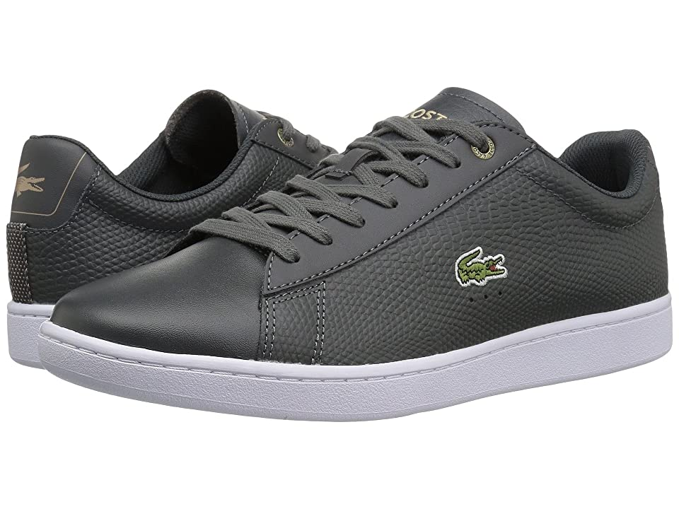 Lacoste Carnaby Evo 118 2 (Dark Grey/Light Tan) Men