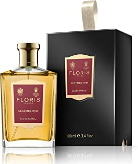 Floris London Leather Oud Eau de Parfum Spray, 3.4 Fl Oz