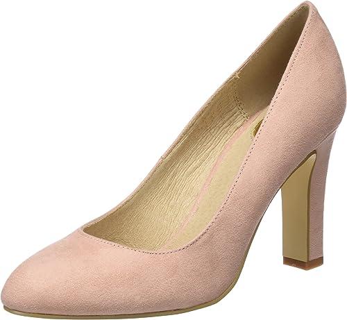 Buffalo C473a-1 S0071g IMI Suede, zapatos de Tacón para mujer