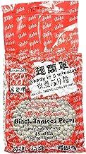E-Fa Brand Premium Grade Black Tapioca Pearls (6.6 lb) [Bubble Tea]Pack of 4