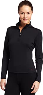 Hot Chillys Women's Micro-Elite Chamois 8K Solid Zip-Tee