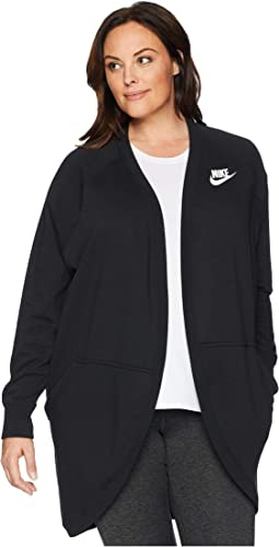 Plus Size Rally Rib Extended Cardigan