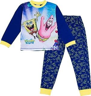 SpongeBob Squarepants Pijama oficial para niños de 3 a 12 años de edad