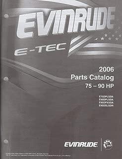 2006 EVINRUDE E-TEC OUTBOARD 75-90 HP (see cover list) PARTS MANUAL (255)
