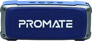Promate Bluetooth Speaker, Premium 6W HD Rugged Wireless Speaker with 4H Playtime, Built-in Mic, FM Radio, 3.5mm Aux Port,...
