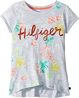 Tommy Hilfiger Kids Palm Tree Tee (Big Kids)