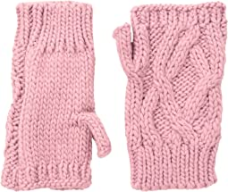 San Diego Hat Company - KNG3495 Cable Knit Fingerless Gloves