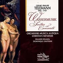 Wassermusik Suite en do majeur pour 2 flûtes, 2 hautbois, basson, cordes & basse continue : Menuet