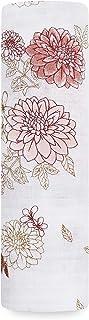 aden + anais 100% Cotton Muslin Swaddle Dahlias 120 x 120 cm Single