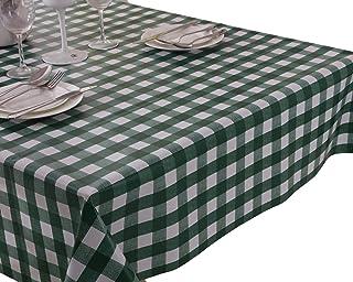 Vinylla - Mantel para mesa con un diseño de cuadros de