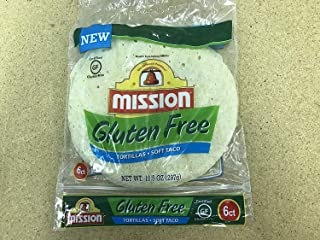 Mission Gluten Free Soft Taco Tortillas 10.5 Oz. / 6ct (Pack of 6)