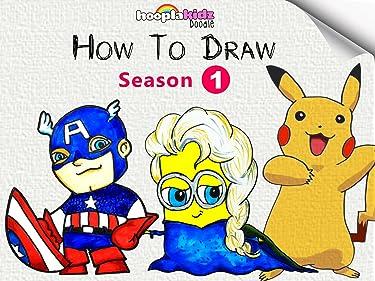 HooplaKidz Doodle : How To Draw