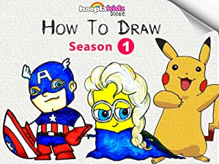 HooplaKidz Doodle : How To Draw
