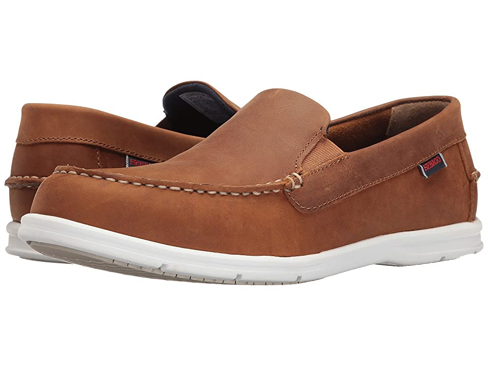 Sebago Litesides Slip-On (Light Brown Leather) Men