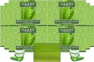 Vaadi Herbals Breezy Aloe Vera Soap, 75g (Pack of 12)