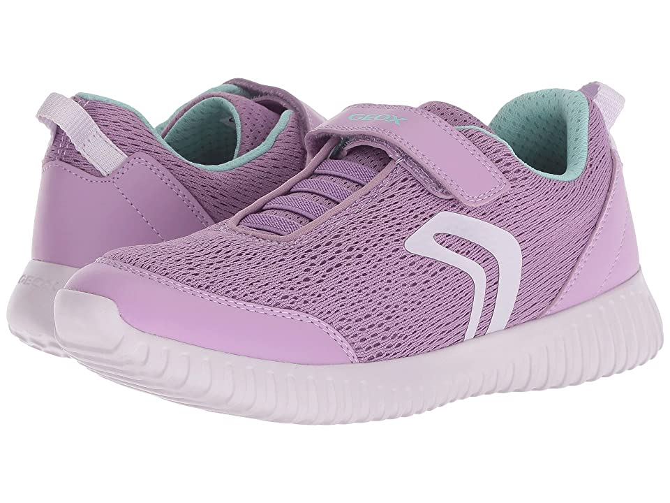 Geox Kids Waviness 3 (Big Kid) (Lilac) Girl
