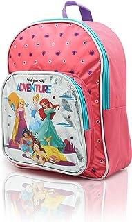 Mochila Princesas Disney para Niñas Mochilas Infantiles La Sirenita Cenicienta Bella Jasmine Rapunzel