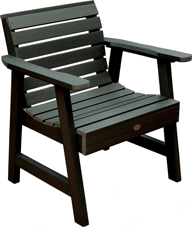 Highwood Weatherly Garden Chair, Charleston Green