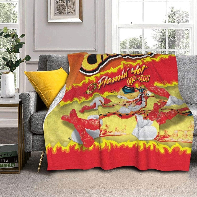 Food Funny Animal Ch-ee-TOS Art Lamb Wool Throw Blanket, Fuzzy Fluffy Lightweight Queen Size Comfort Mixed Bed Blanket Velvet Bl