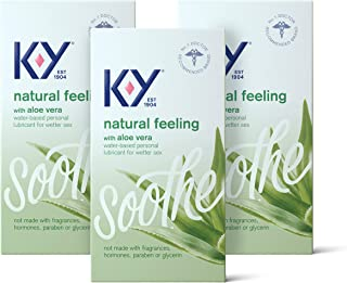 Personal Lubricant, K-Y Natural Feeling with Aloe Vera...