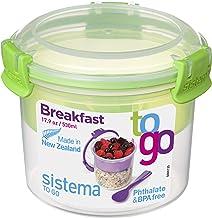 صندوق تخزين طعام الفجور تو جو من سيستيما، 17.9 اونصة/ 0.5 لتر، قد يختلف اللون الذي ستتلقاه