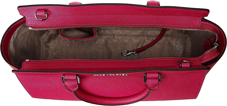 Michael Kors Cuir Rose Grande Selma sur le dessus zippée sacoche Raspberry 1