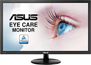 ASUS VP247HA Ultra-low Blue Light Monitor - 23.6 inches FHD 178 degrees Wide Viewing Angle, Speakers, Flicker free