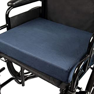 DMI Polyfoam Wheelchair Seat Cushion, Standard Foam Seat Cushion for Chairs, Adds Support, Comfort, Reduces Pressure and S...