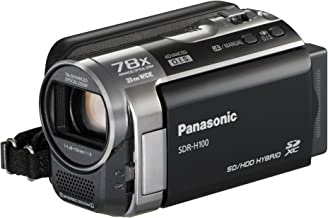 Panasonic SDR-H100K Camcorder (Black) (Discontinued by Manufacturer)