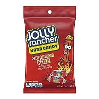Deals on 12-Ct Jolly Rancher Cinnamon Fire Hard Candy, Bulk Halloween 7Oz