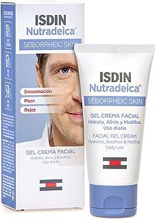 ISDIN Nutradeica - Gel-crema facial indicado para el tratamiento del exceso de sebo descamación picor y eritema de la pi...