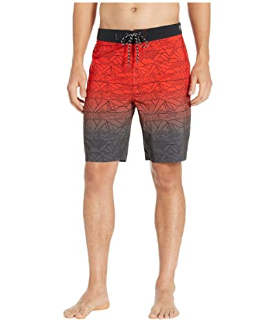Hurley 20 Phantom Sig Zane Haliewa Boardshorts (Habanero Red) Men
