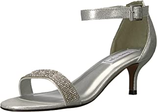 Touch Ups Women's Isadora Heeled Sandal, Silver, 11 M US