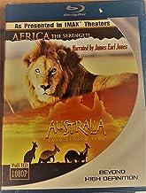 Africa: The Serengeti/ Australia : Land Beyond Time (Imax) [Blu-ray]