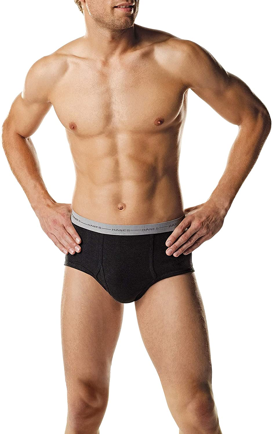 Hanes Special Campaign Men's Cotton Briefs Cool Styling 5-Pack Mid-Rise Sport 2021 Dri