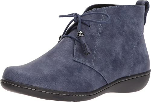 Soft Style by Hush Hush Puppies Wohommes Jinger Ankle démarrageie, Navy Evening Nubuck, 7.5 N US  authentique