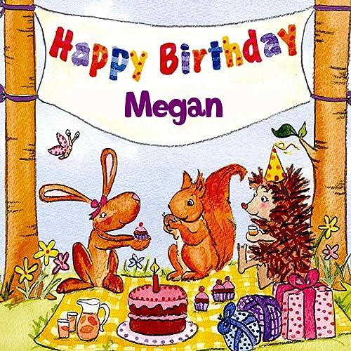 Happy Birthday Megan By The Birthday Bunch On Amazon Music Amazon Com