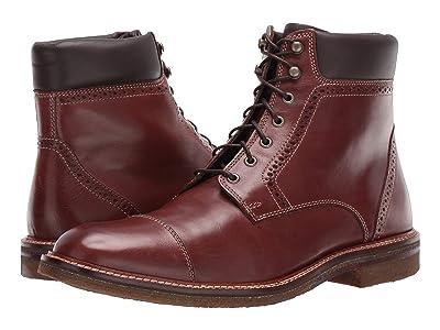 J&M EST. 1850 Forrester Cap Boot (Mahogany) Men