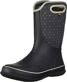 Kids Slushie Web Geo Snow Boot
