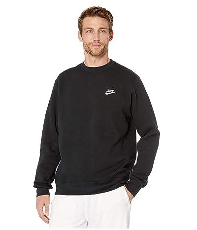 Nike NSW Club Crew (Black/White) Men