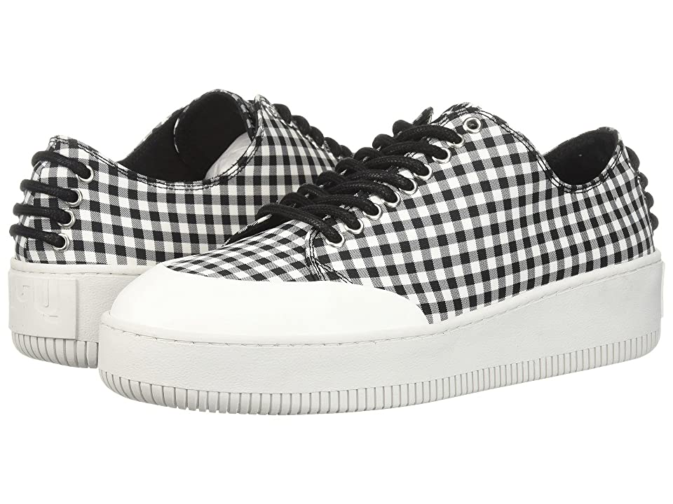 McQ Netil Eyelet Low (Nero/Bianco) Women