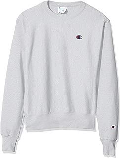 Champion LIFE Men's Reverse Weave Sweatshirt, Silver/Gray, Small