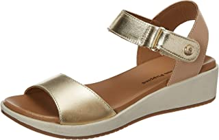 Hush Puppies Women's Alcina Leather Fashion Sandals
