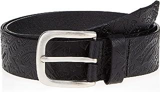 Levi's Mens Two Horse Belt Belt, Color: 59 - Regular Black, Size: 95cm